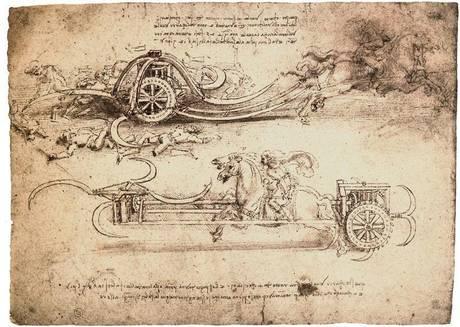 Il genio Leonardo, 52 disegni a Venezia