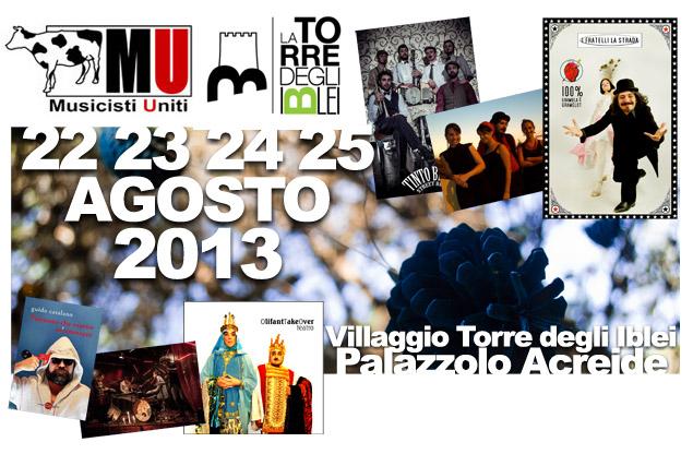 """Palazzolo, IV Edizione del Sincero Festival, """"Musici, teatranti, artisti e buffoni"""""""