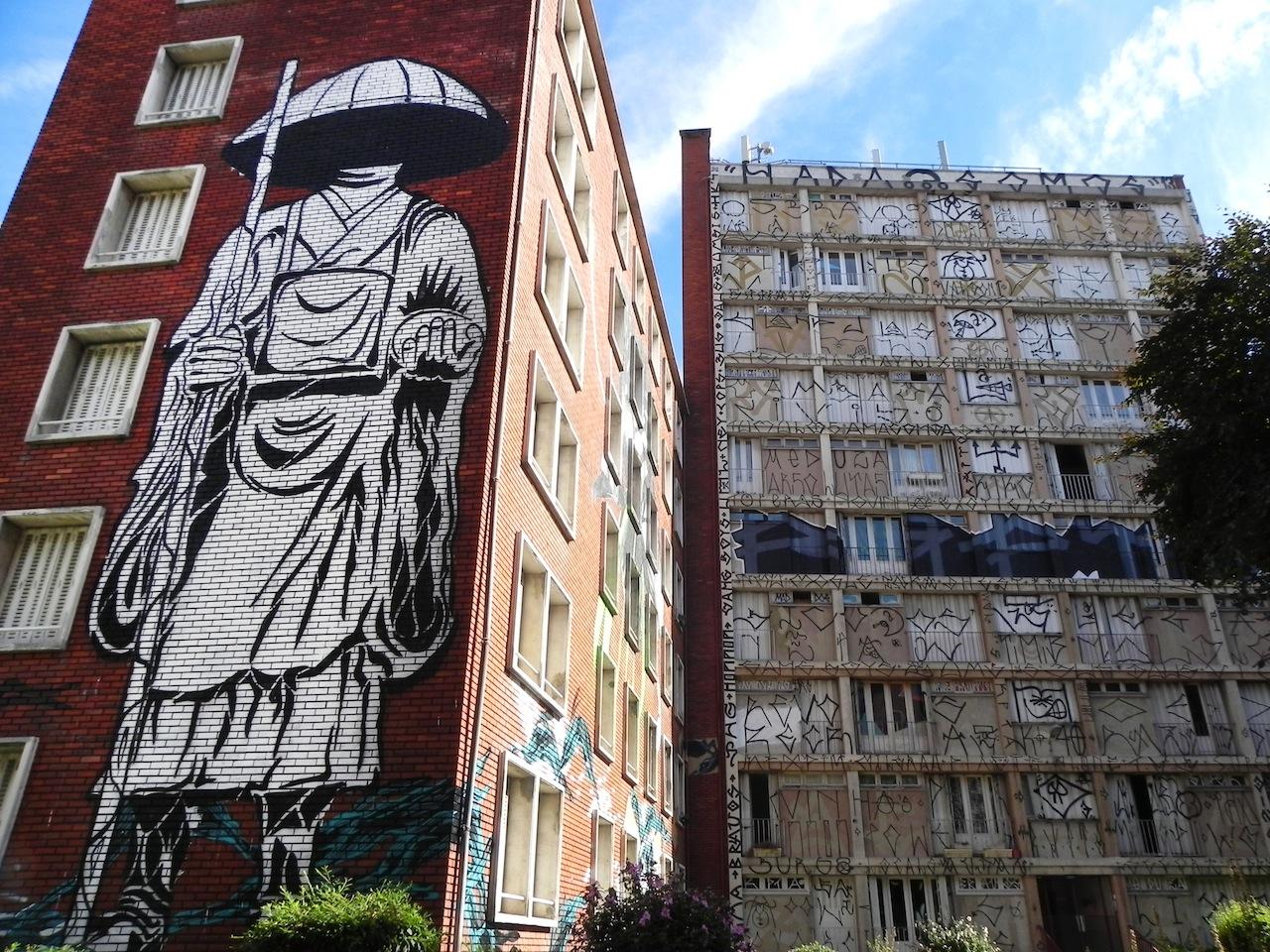 Le Tour Paris 13, a Parigi la Babele della street art