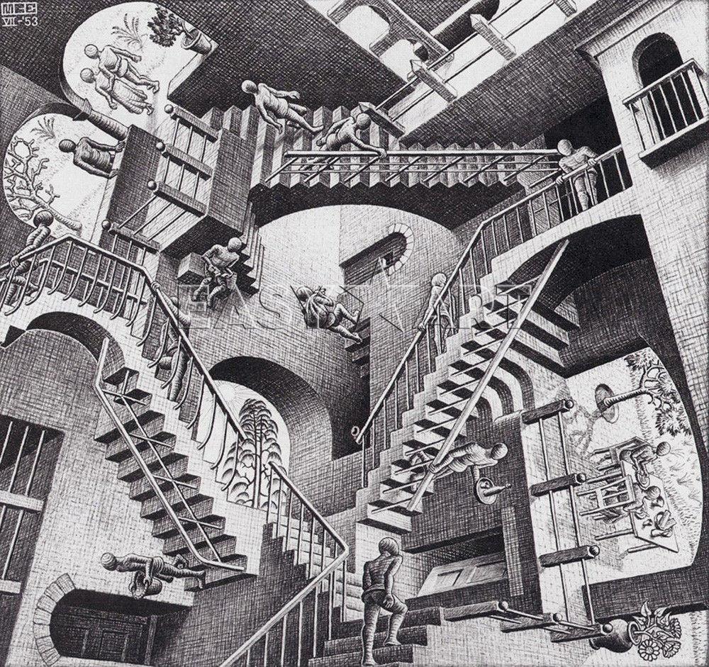 Mostre: Escher, tra arte e geometria