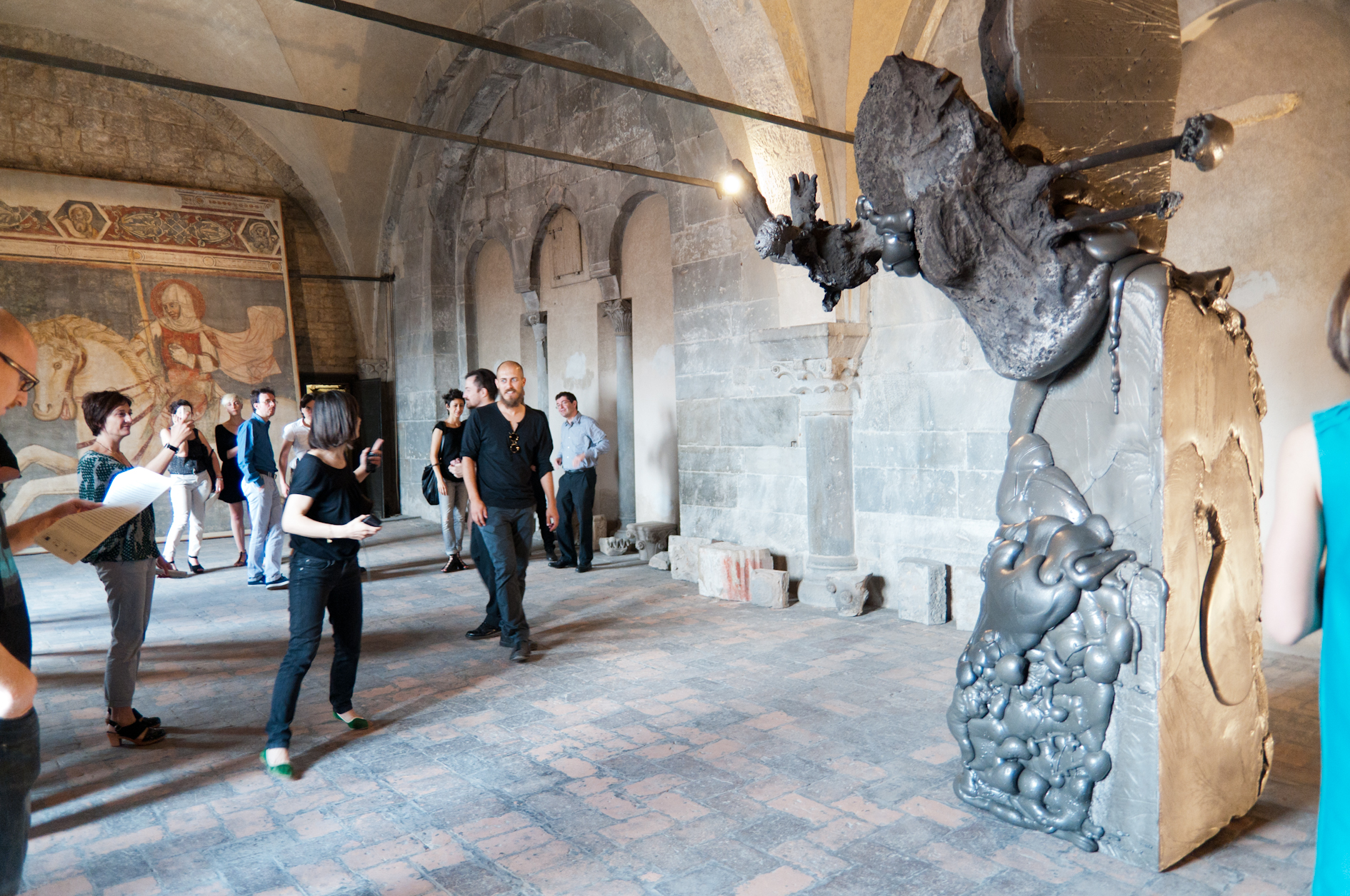 Roma: con 'Osmosis' l'arte contemporanea invade la Stazione Tiburtina