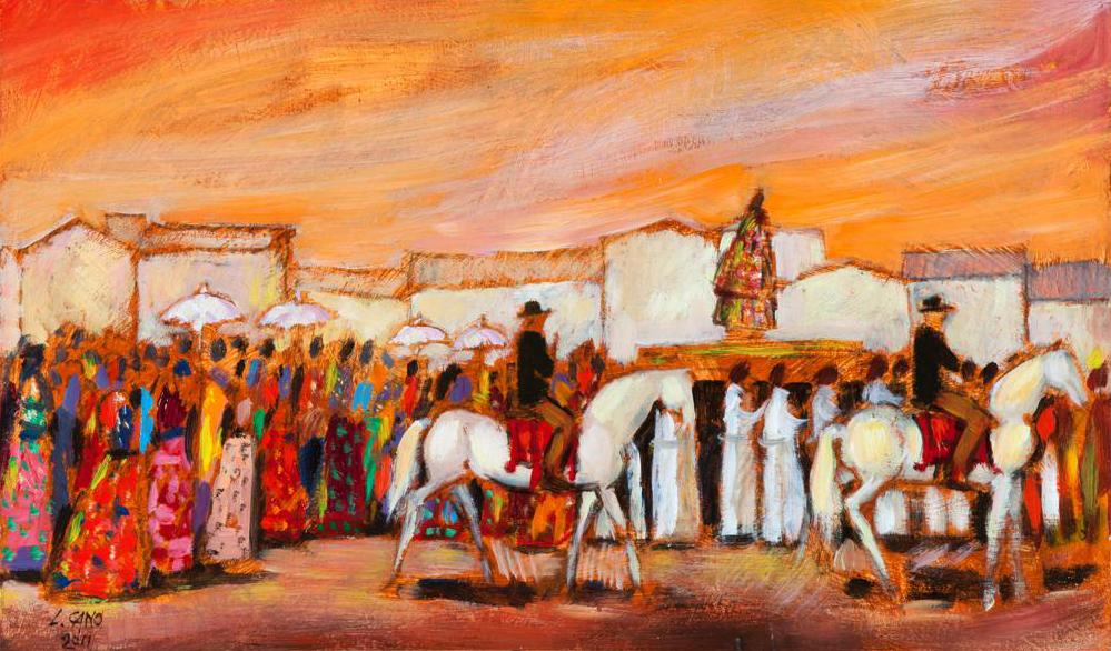 Liliana Cano, il lungo viaggio di un'artista