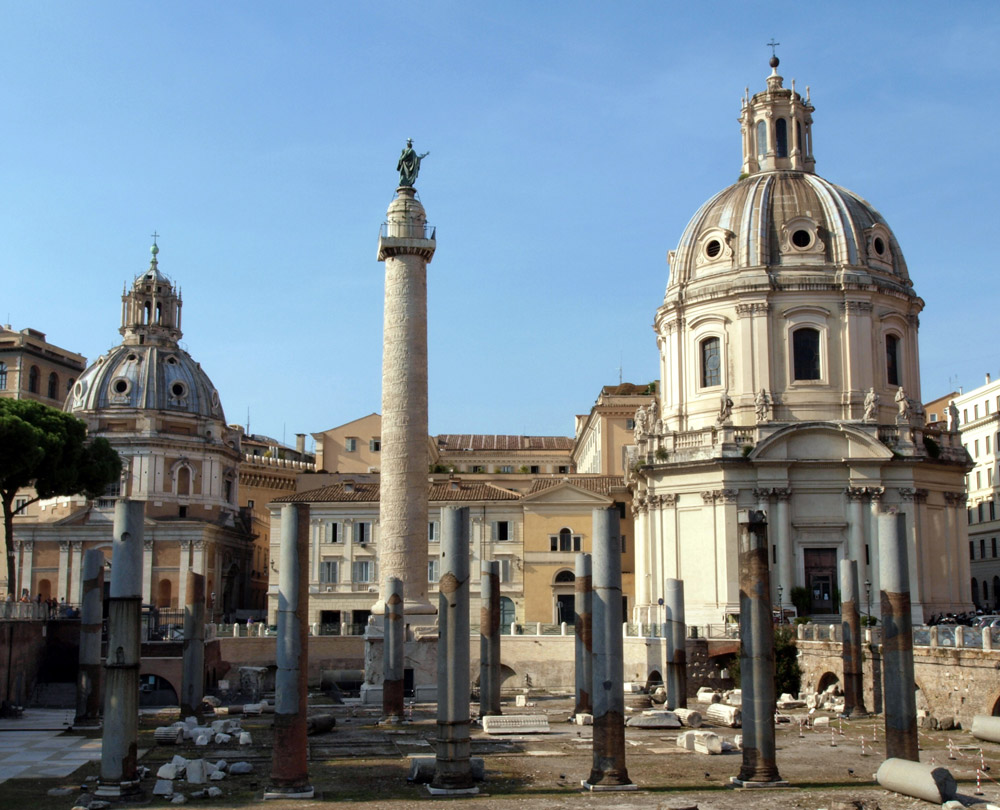 La Colonna Traiana compie 1.900 anni