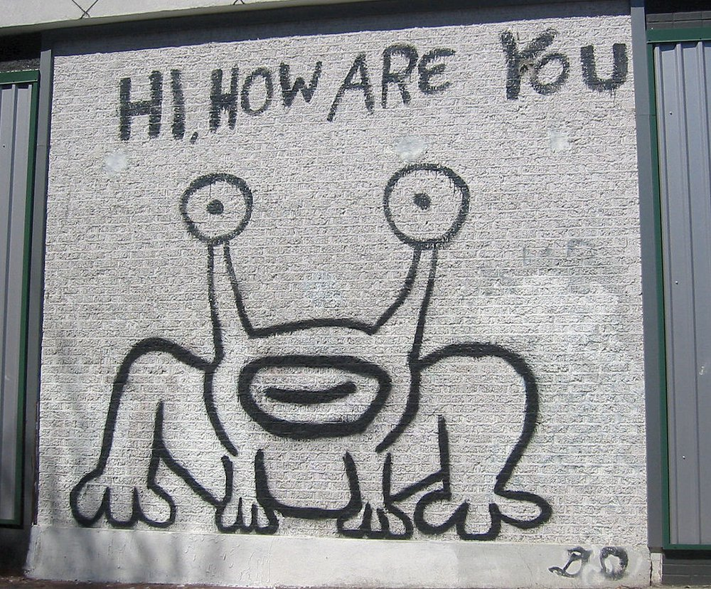 Austin, Texas. Deturpato il murales con la rana di Johnston indossata da Kurt Cobain