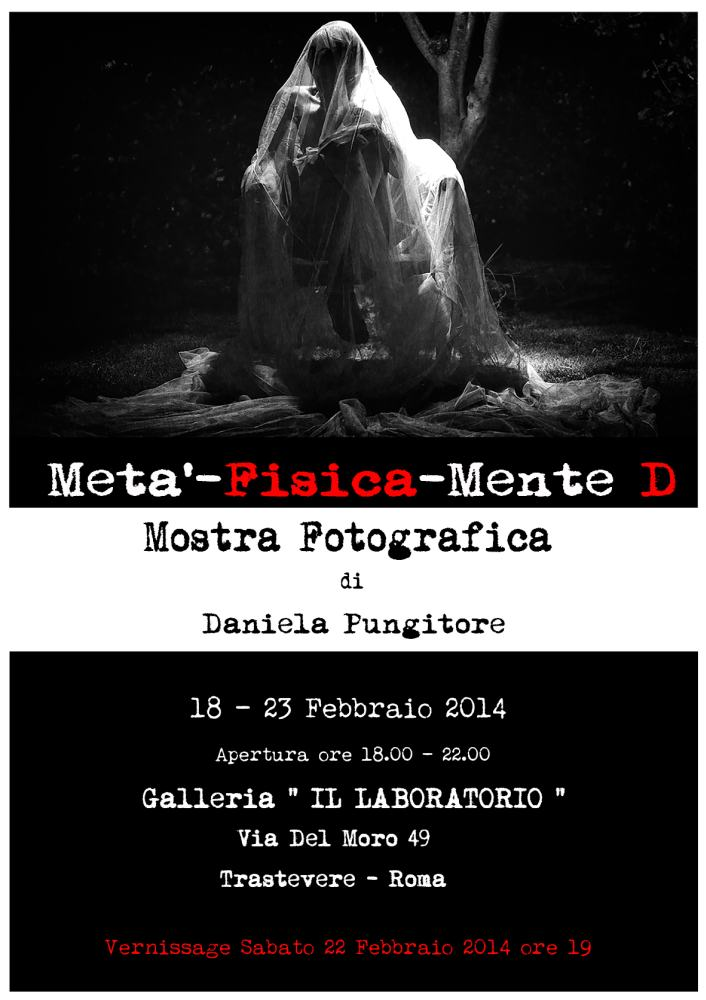 Meta'-Fisica-Mente D   Prima personale di Daniela Pungitore