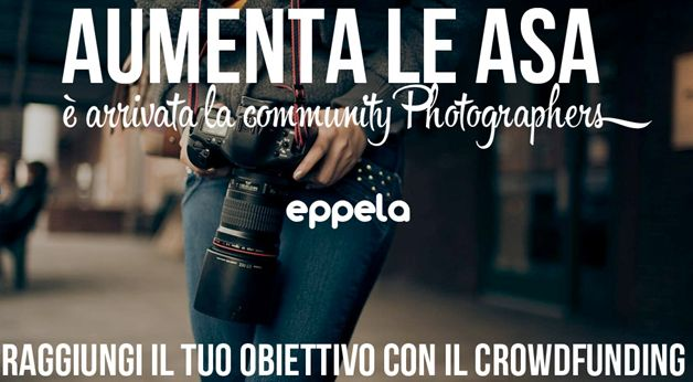 Partnership Photographers.it & Eppela