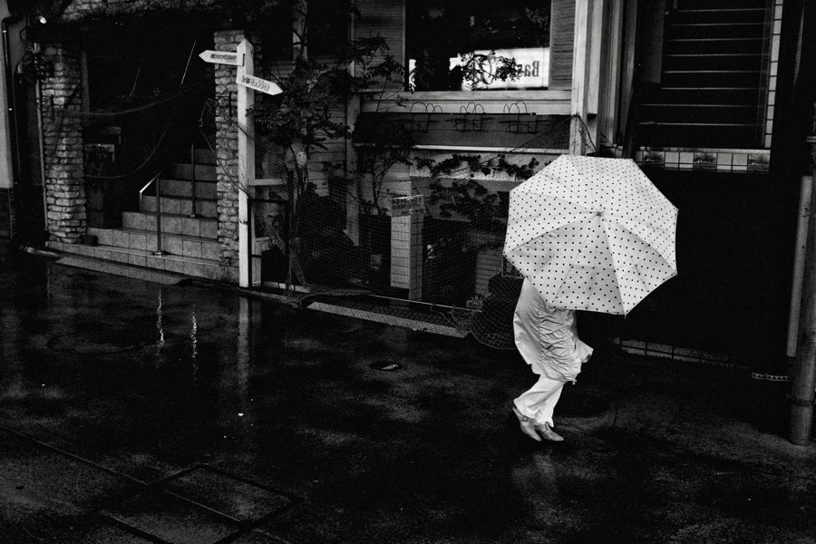 Japanese Umbrella by Shin Noguchi