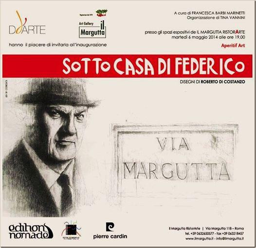"""""""SOTTO CASA DI FEDERICO"""": UNA MOSTRA PER RICORDARE FELLINI"""