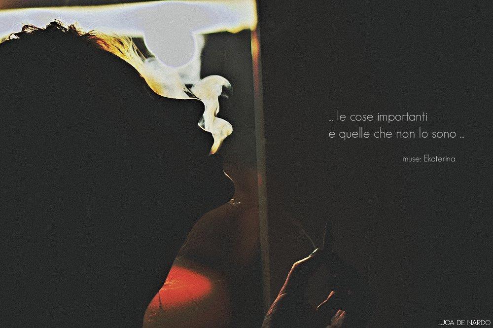 """""""...le cose importanti e quelle che non lo sono..."""" di Luca De Nardo"""