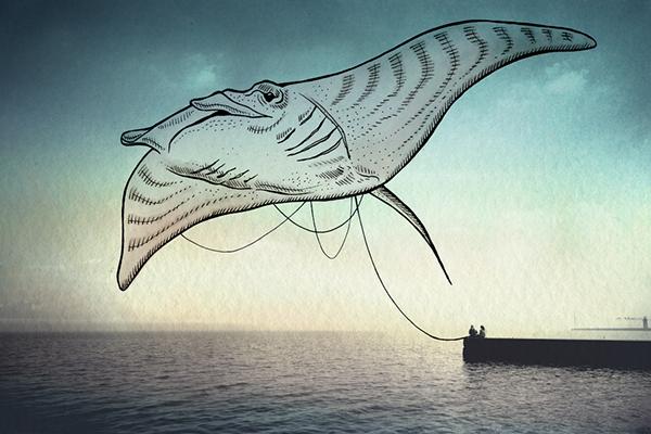 """""""Oceanographies"""" di Giulia Pex & Luca Broglia"""