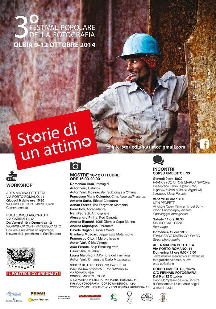 """""""Storie di un attimo"""": Festival + Workshop"""