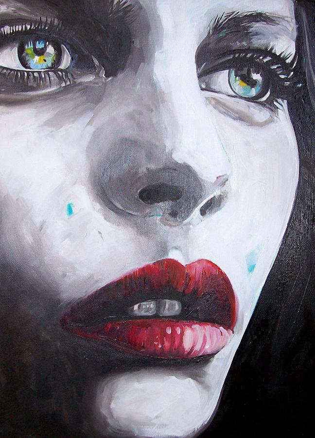 Elena Montiani,Il cielo sotto,olio su tela, cm 30x40, 2014
