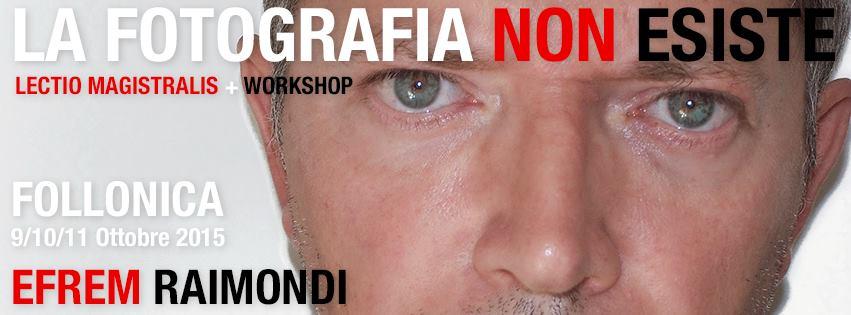 Workshop di Ritratto Fotografico e Lectio Magistralis di Efrem Raimondi