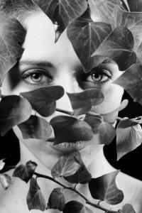 """Portrait with leaf"" © Giovanni Maraglino"