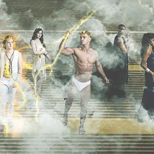 """""""Gods of Olympus"""" di Riccardo Riande"""