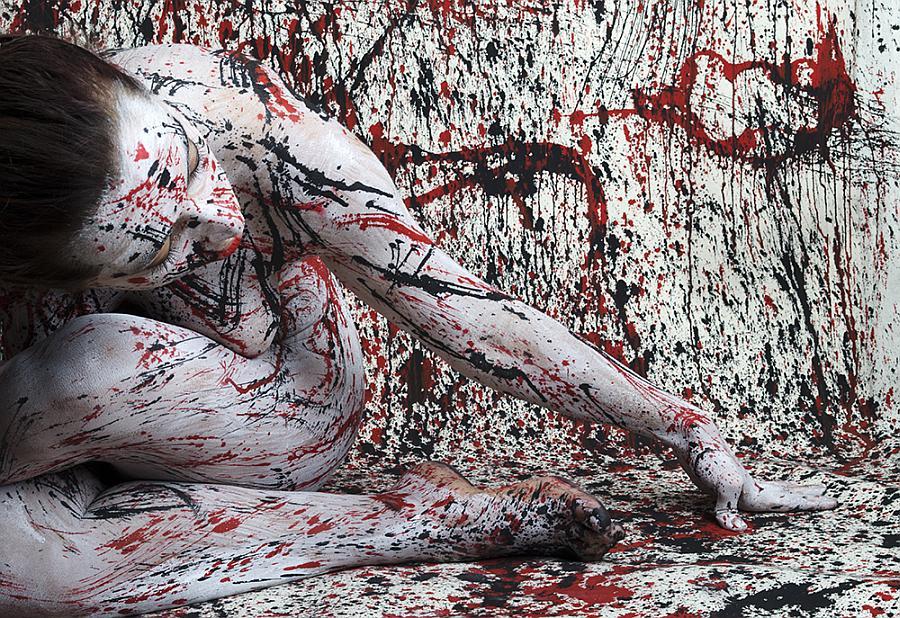 """""""In onore a Jackson Pollock"""" © Fabrizio Ferrettini"""