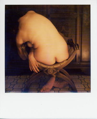"""""""Nudo su sedia #3 - selfportrait"""" © Carmen Palermo"""