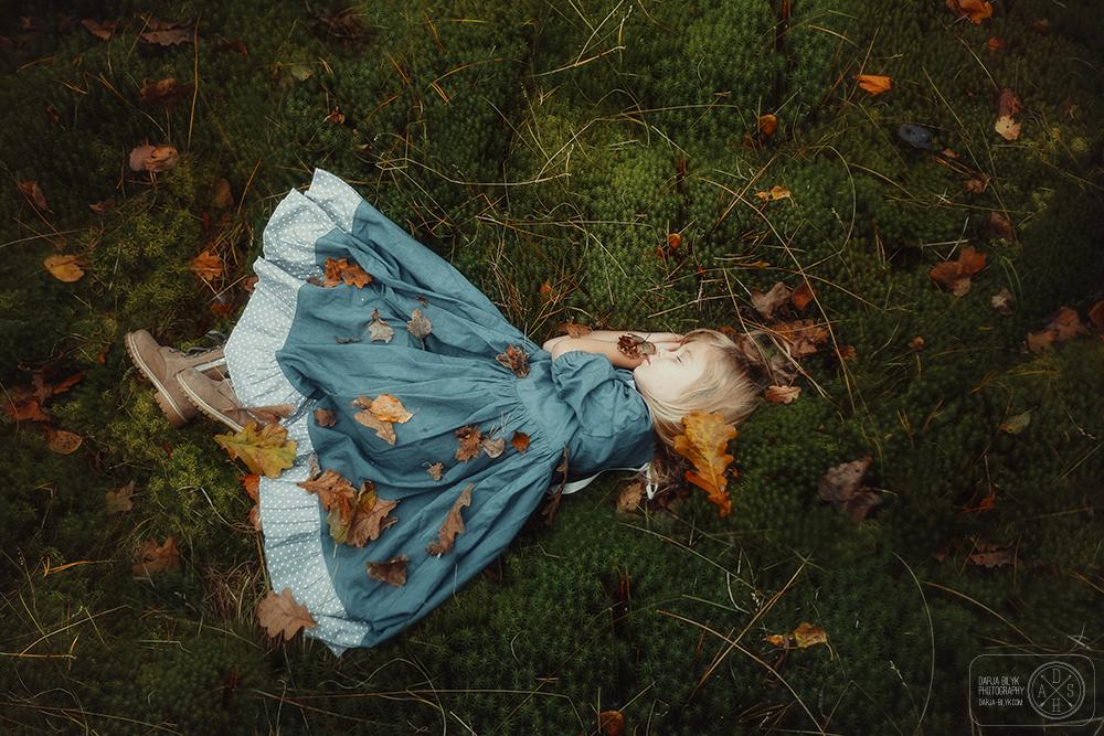 """Sleeping on the moss"" © Darja Bilyk"