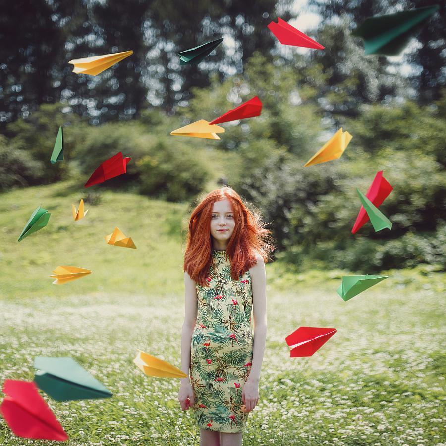 """""""Paper Kites"""" © Darja Bilyk"""