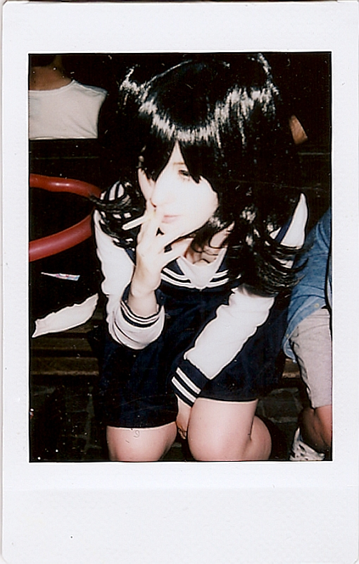 """Japan, gentlemen take polaroids"" © Chiara Marzia"