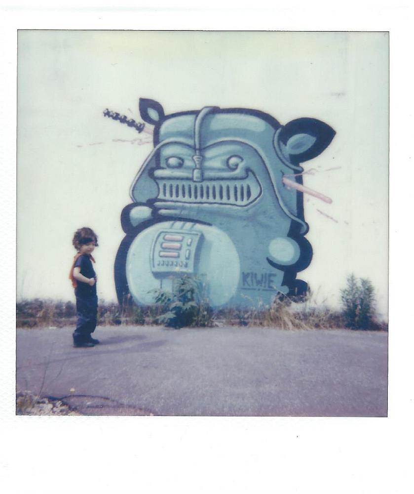 """Astrohero VS Robot"" © Luca Corradi"