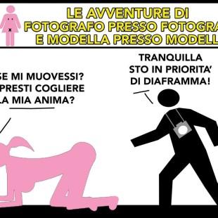 """""""Le avventure di Fotografo presso Fotografo e Modella presso Modella"""""""