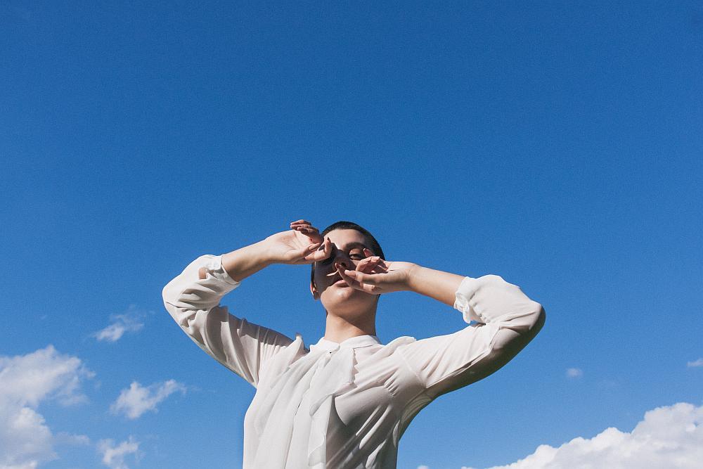 """""""Dancing in the sky"""" © Mattia Giuntini - Model: Erica Pizzarelli"""
