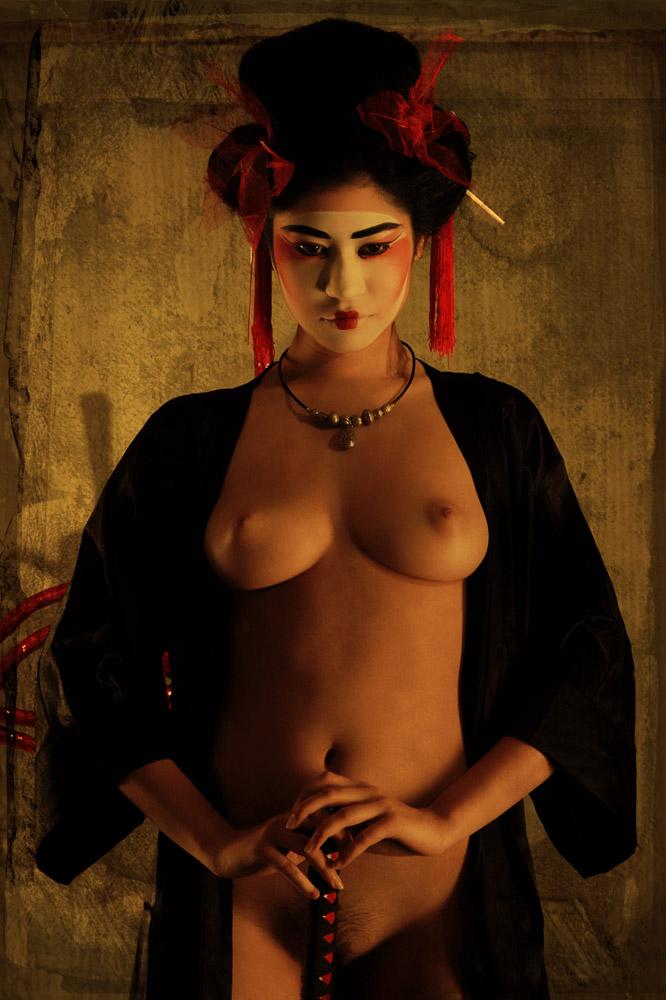 """""""Geisha warrior"""" © Aldo Stefanni"""
