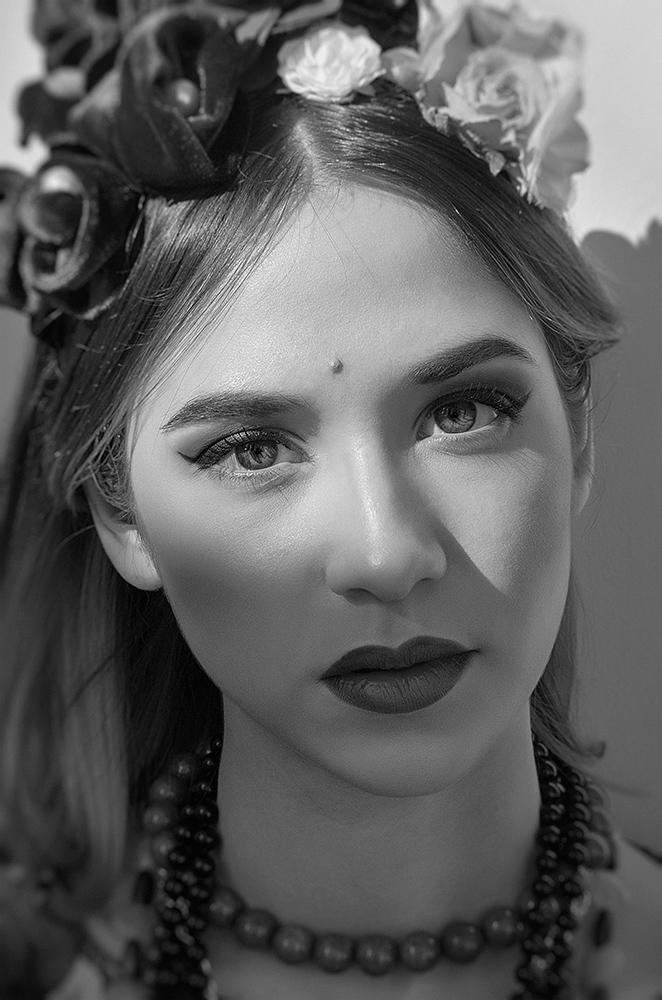 """""""Mexican passion"""" © Anna Atlas - Model: Veronika Schukina - Hair stylist: Vakhrusheva Tatiana"""
