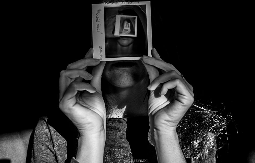 """Polaroid face"" © Giorgia Bevegni"