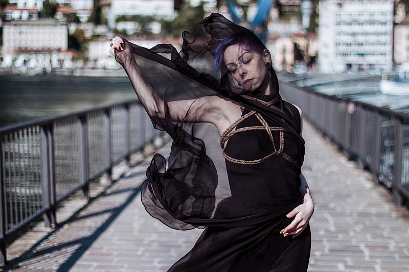 """Black Swan"" © Isabella Pozzali - model: Usagi Momo"