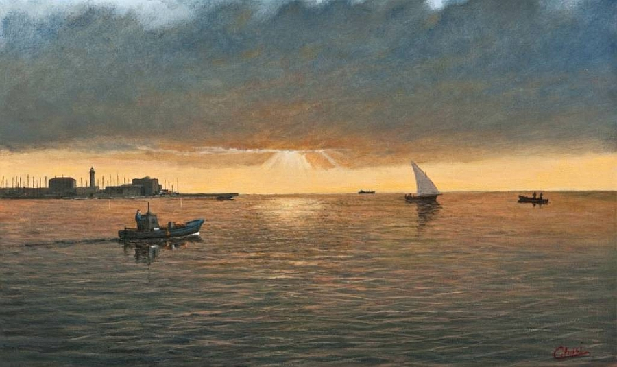 Mostre: il pittore Fabio Colussi a Trieste (2-31 dicembre)