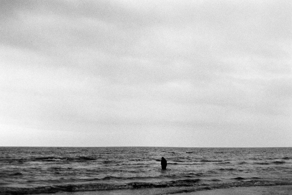 """""""Il mare davanti"""" di Tommaso Guermandi"""
