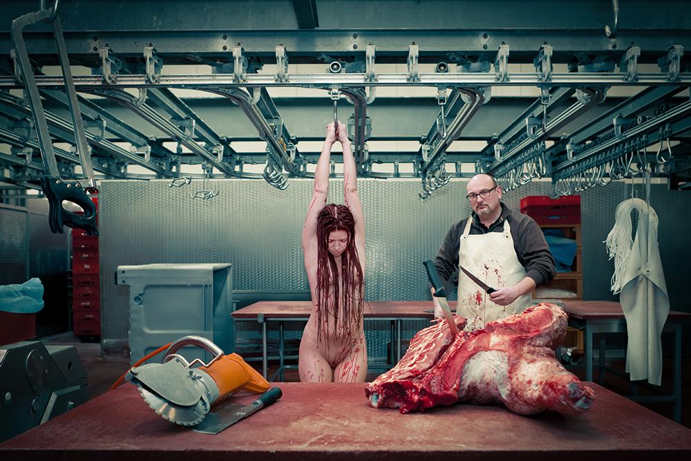 """""""Lean Meat"""" © Irving S. T. Garp"""