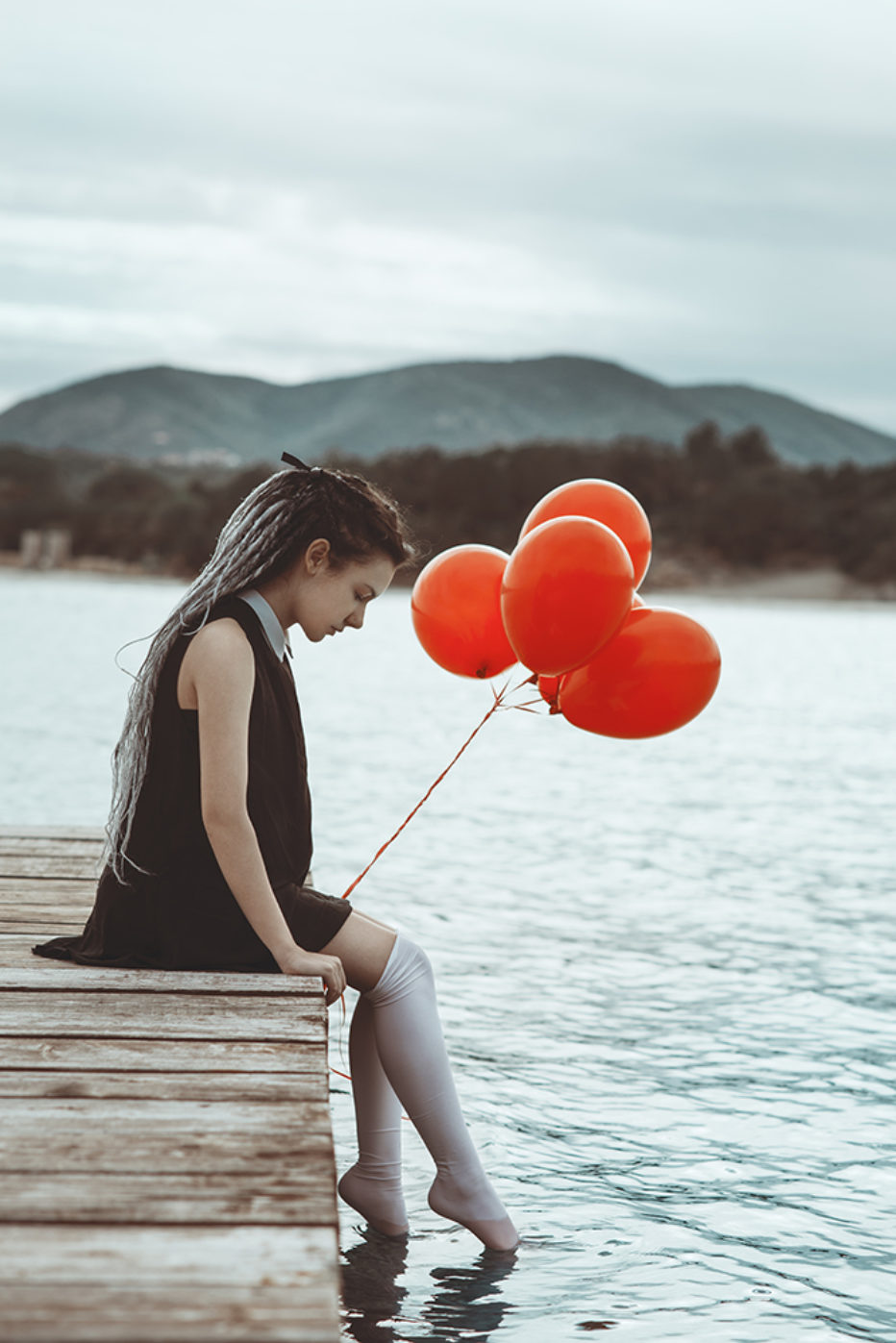 """""""Red balloons"""" by Sergio Derosas"""