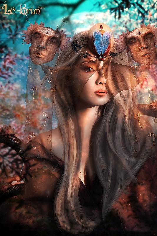 """Blessing Nature"" © Lc-Korim"