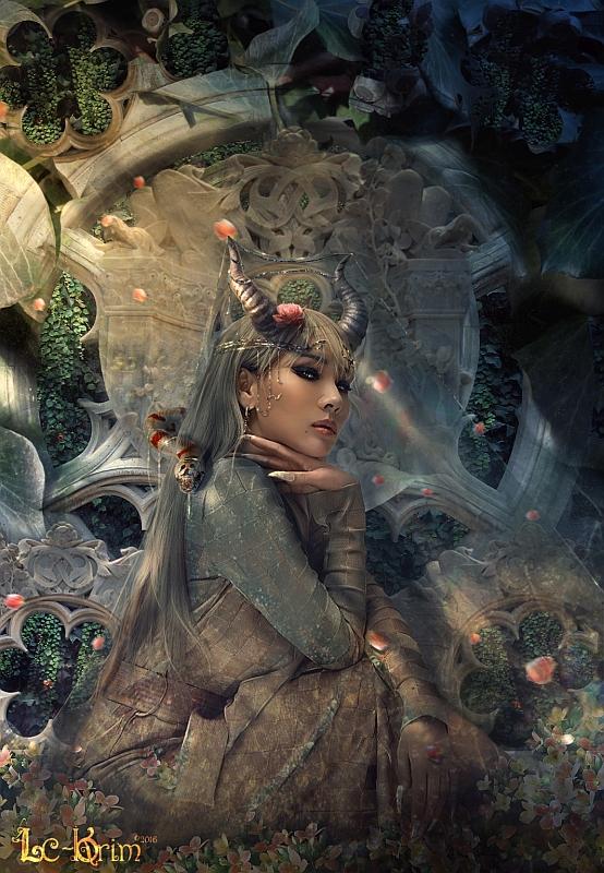 """""""Mystic Queen"""" © Lc-Korim"""