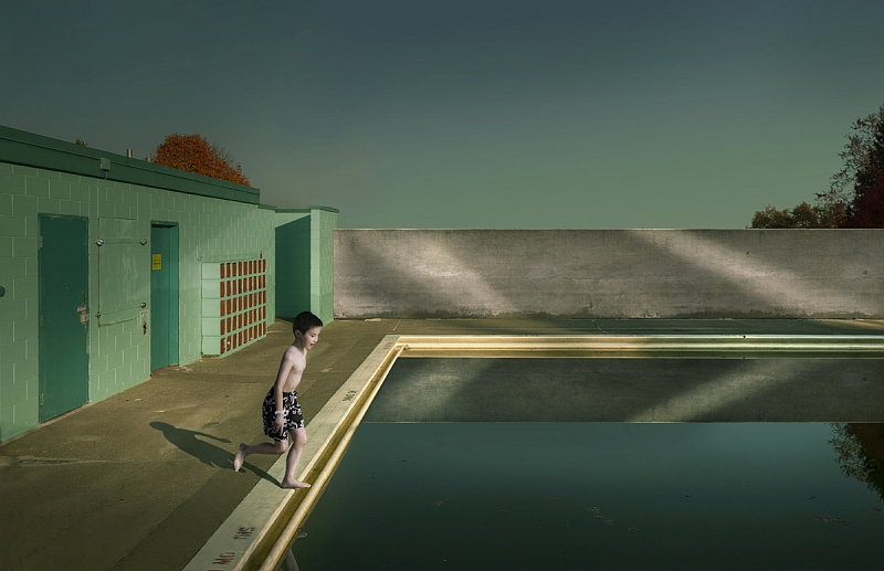 """Swimming pool"" © Fang Tong"