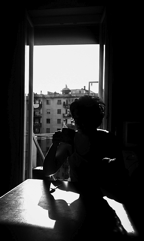 """Backlit breakfast"" © Alessandra Marinacci"
