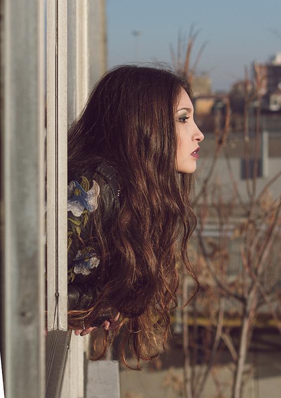 """""""Alone in the strange castle"""" ©MarioVal - model: Raffaella Tedesco"""