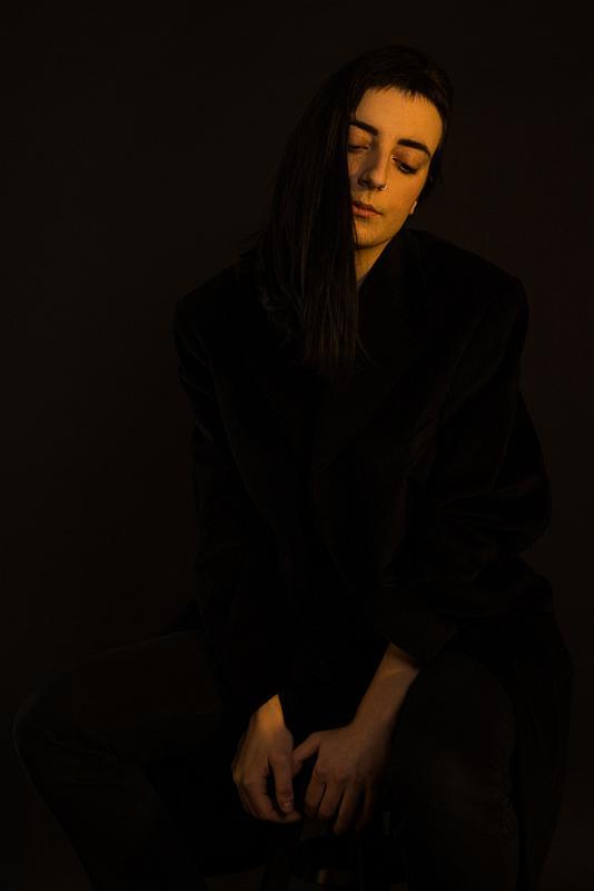 """""""Austere look"""" © Giulia Catania - model: Alma"""