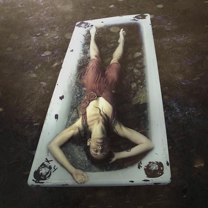 """In the tub"" © Isabella Indiesigh - model: Elisa Spagone"