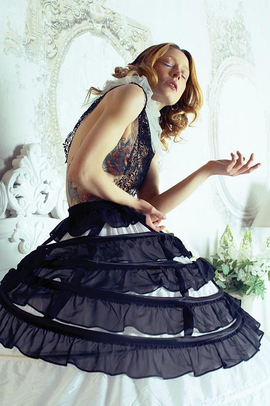 """Tormented doll"" @ Emilie Volatild - MUA: Vanessa Vastola - model: Stelladiplastica"