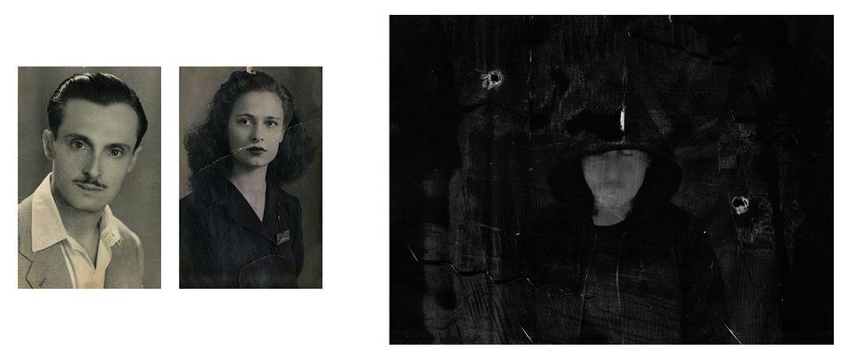 Ivan Piano, All My Memory, 2017, stampa al bromuro d'argento 8x12 cm cad. e stampa ai sali d'argento 18x24 cm (opera unica) courtesy galleria SR Contemporary Art (Berlino e Milano)