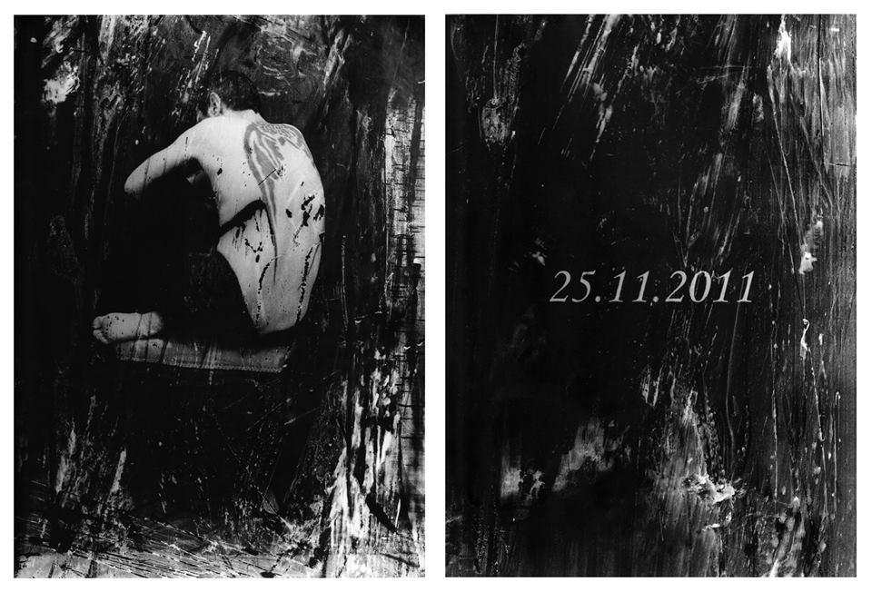 Ivan Piano, Enjoy The Silence (00.45), 2018, stampa ai sali d'argento 18x24 cm cad. (opera unica) courtesy galleria SR Contemporary Art (Berlino e Milano)
