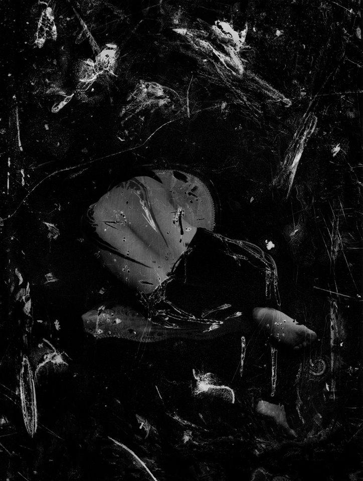 """Ivan Piano, """"… how do the dead feel…"""", 2019, stampa ai sali d'argento 30x40 cm (opera unica) courtesy galleria SR Contemporary Art (Berlino e Milano)"""