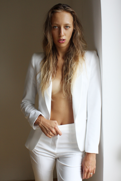 """Unpredictable"" @Balint Nemes - model: Lucka wearing Second Hand Vintage"