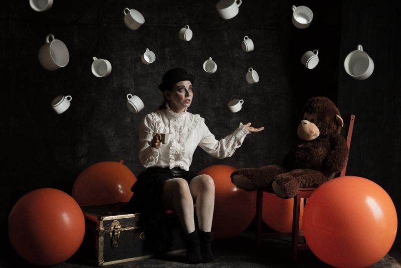 """""""La Solitudine Di Sybille"""" © Valerio Magini - model: Sibilla Passi - MUA: Valentina Monaco"""