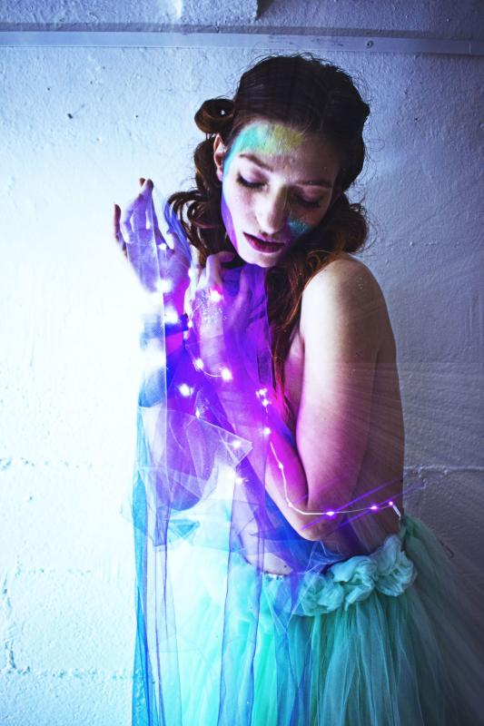 """Stardust doll - The born of northern Lights""© Emilie Volatild - model: Laila Petra Baccolo - muah: Vanessa Vastola"