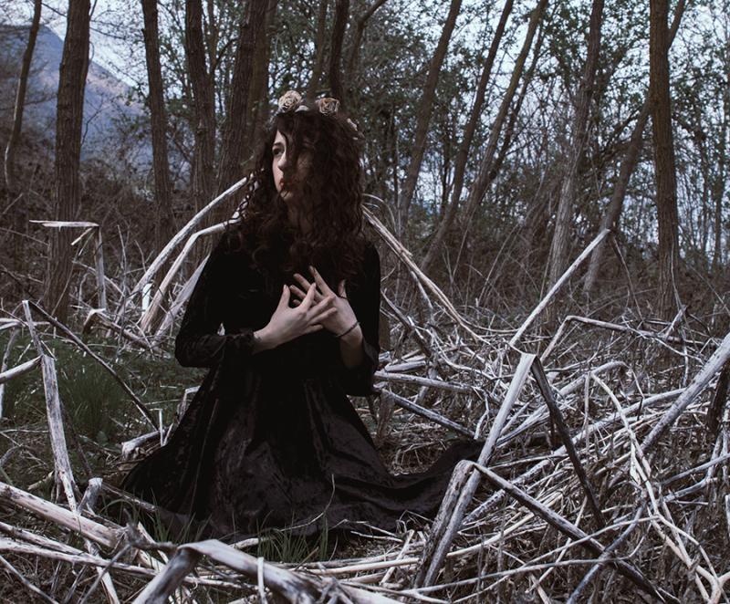 """""""The wood"""" © Isabella Quaranta - model: Fiorella Vair"""